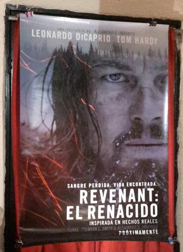 el renacido poster original leonardo dicarpio c229g