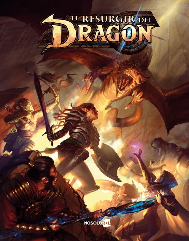 El Resurgir Del Dragon Juego De Rol Envio Gratis Gdjms