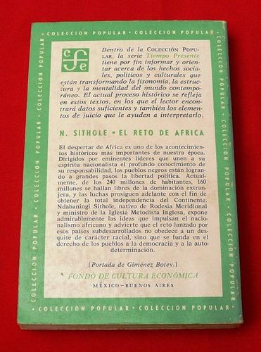 el reto de africa ndabaningi sithole nacionalismo colonialis