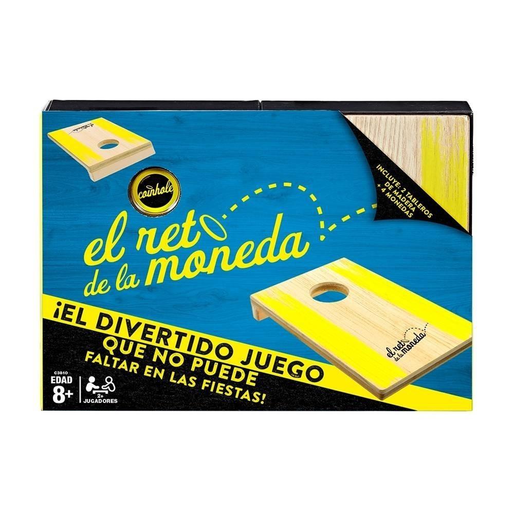 El Reto De La Moneda Juego De Mesa Hasbro 289 00 En Mercado Libre