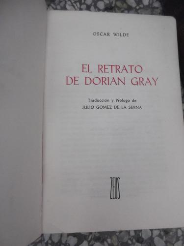 el retrato de dorian gray oscar wilde tapa dura
