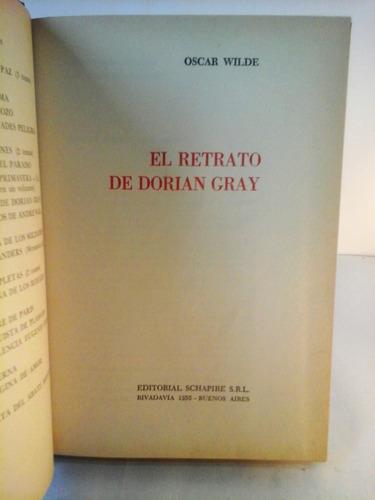 el retrato de dorian grey  (tapa dura)  oscar wilde