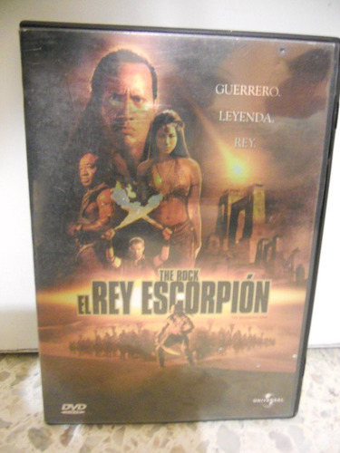 el rey escorpion dvd movie