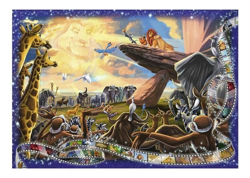 el rey leon 1000p coleccion disney rompecabezas ravensburger