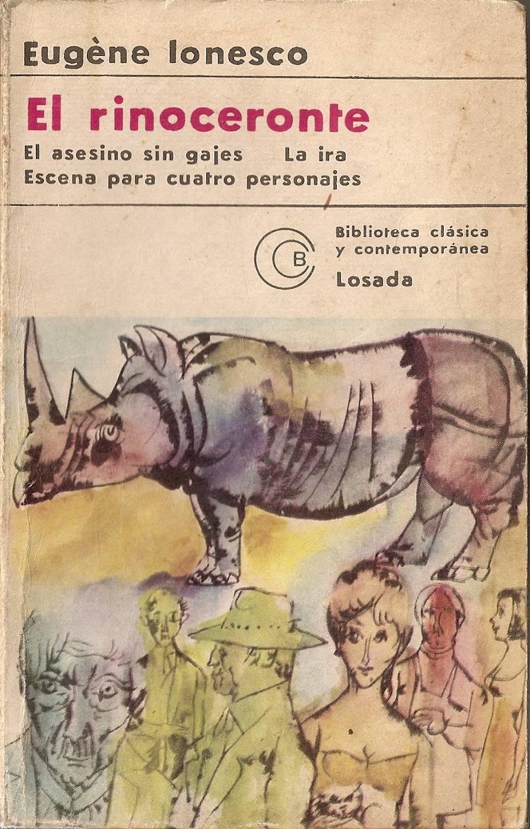 El rinoceronte eug ne ionesco losada
