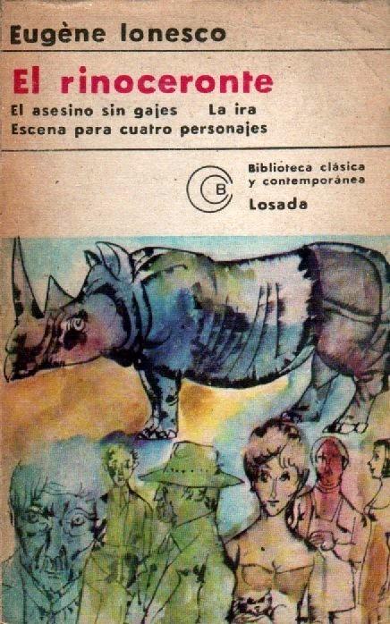 ionesco el rinoceronte