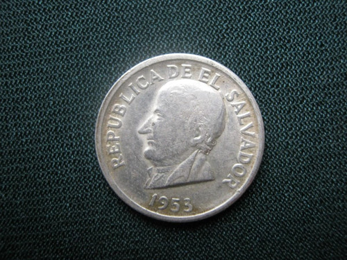 el salvador 50 centavos 1953 plata