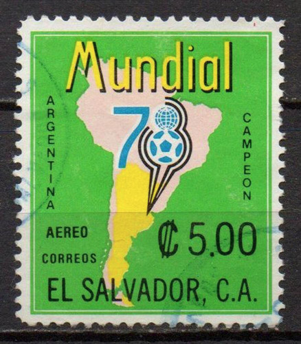 el salvador - copa do mundo - 1978 - aéreo