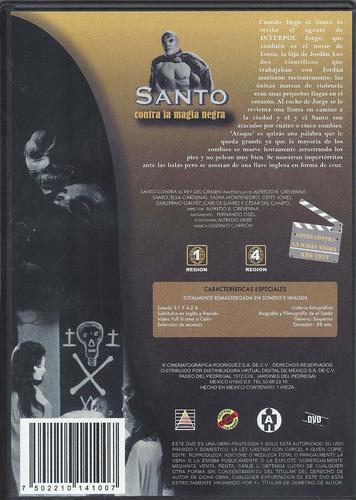 el santo contra la magia negra (dvd)