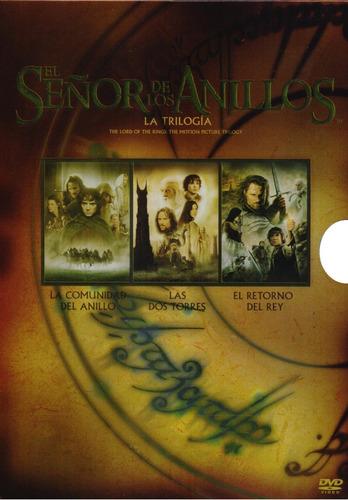 el señor de los anillos 1 2 3 trilogia boxset peliculas dvd