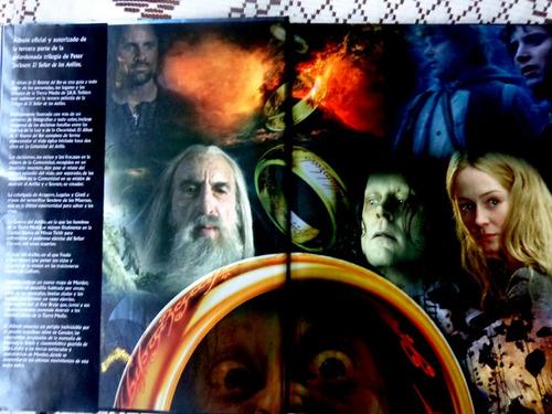 el señor de los anillos album de el retorno del rey