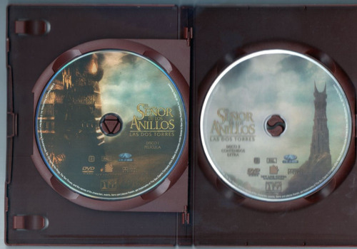 el señor de los anillos trilogia 6 dvd audio español+ingles