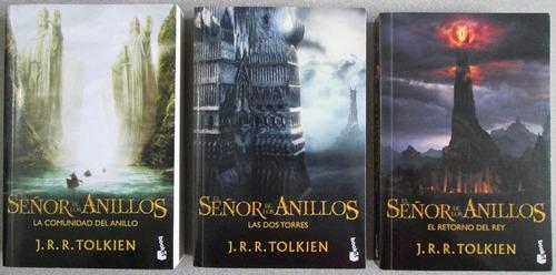 el señor de los anillos trilogía j. r. r. tolkien 3 libros