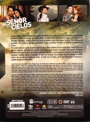 el señor de los cielos temporada 1 uno parte 1 dvd