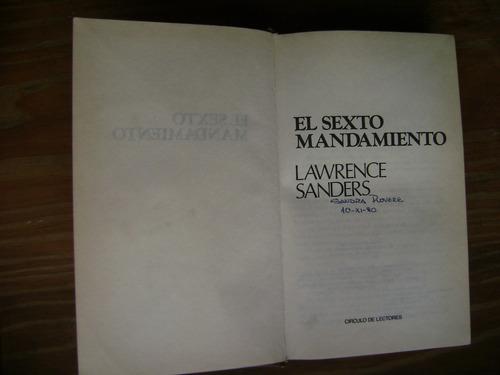 el sexto mandamiento - lawrence sanders
