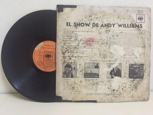 el show de andy williams vinilo (longplay - lp)