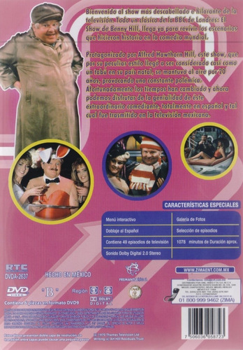 el show de benny hill serie completa dvd