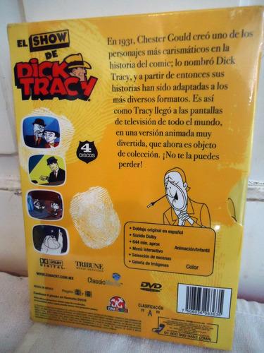 el show de dick tracy  la serie completa en formato dvd