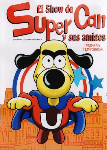 el show de super can y sus amigos temporada 1 dvd