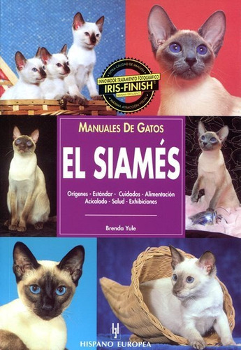 el siamés - manual de gatos, brenda yule, hispano europea