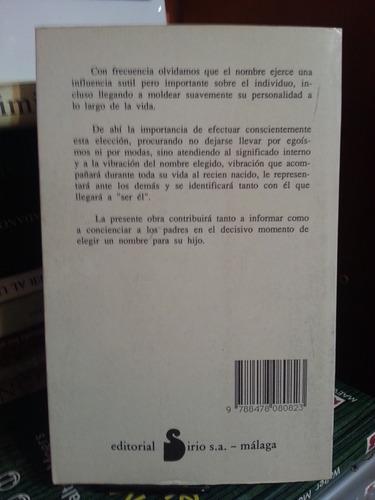 el significado de los nombres. toñi castellon