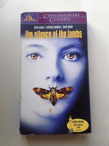 el silencio de los inocentes pelicula vhs perfecta original