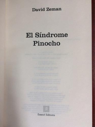 el síndrome pinocho. david zeman