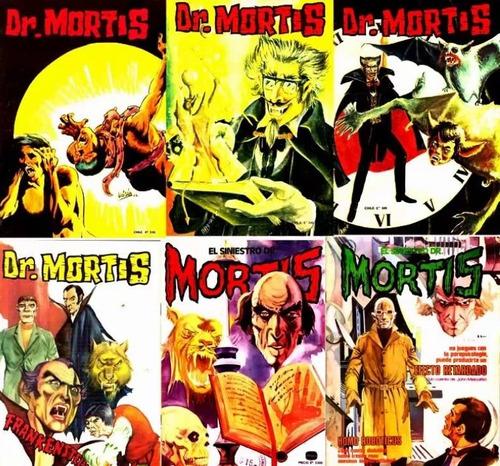 el siniestro doctor mortis comic digital
