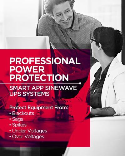 el sistema de ups cyberpower pr750lcd inteligente aplicación