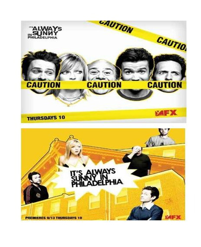 el sol siempre sonrie en filadelfia temporadas 1 y 2 dvd