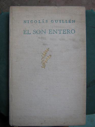 el son entero nicolás guillén primera edición 1947