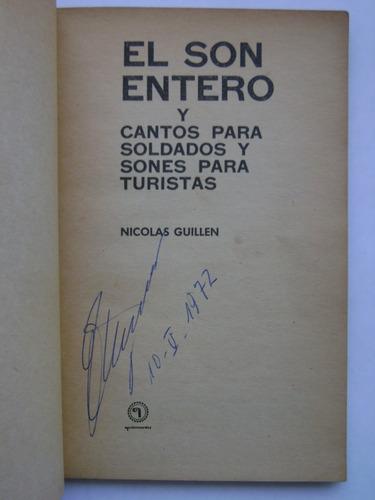 el son entero / nicolás guillén / quimantú