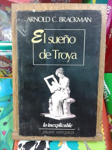 el sueño de troya - brackman - usado - devoto