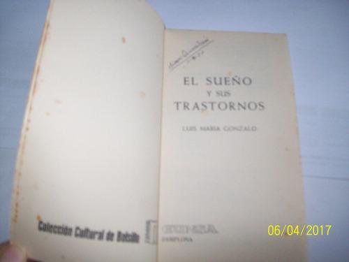 el sueño y sus trastornos. luis maría gonzalo, 1976