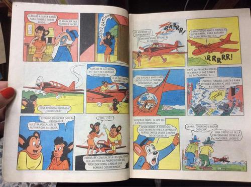 el súper ratón año xi no 187/187 cómic antiguo