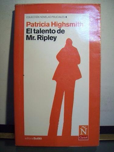 el talento de mr. ripley patricia highsmith nuevo