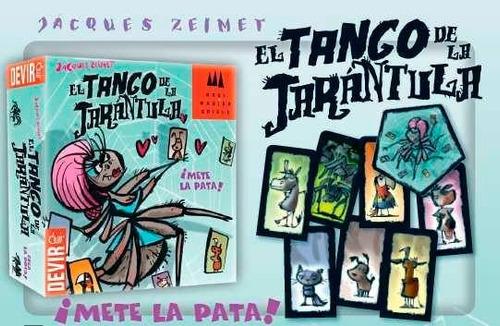 el tango de la tarántula - juego de cartas para niños