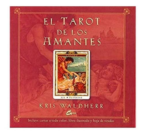 el tarot de los amantes, libro, cartas y hoja de tiradas