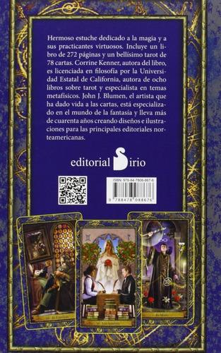 el tarot de los magos - estuche importado con libro y cartas