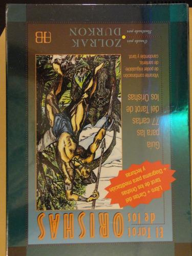 el tarot de los orishas set mazo + libro alfa omega