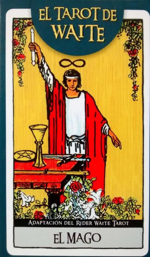 el tarot de waite - manual + 78 cartas sellado - ed. grupal