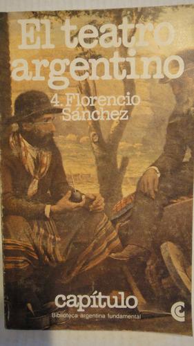 el teatro argentino florencio sanchez