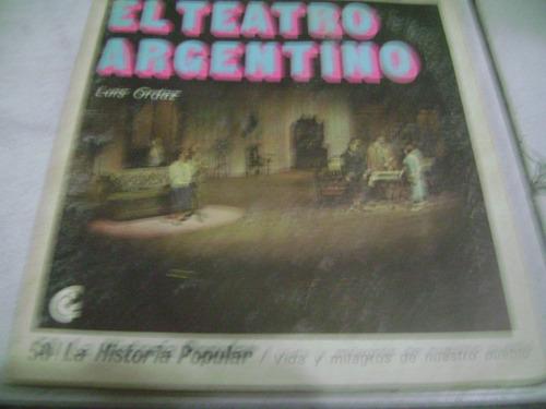 el teatro argentino - luis ordaz