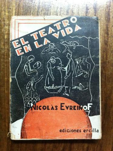el teatro en la vida - nicolás evreinoff