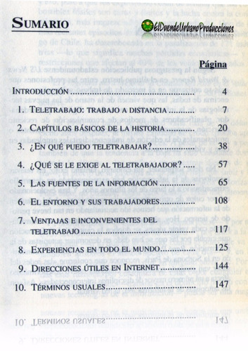 el teletrabajo | ganar dinero con internet | 1999 | libro