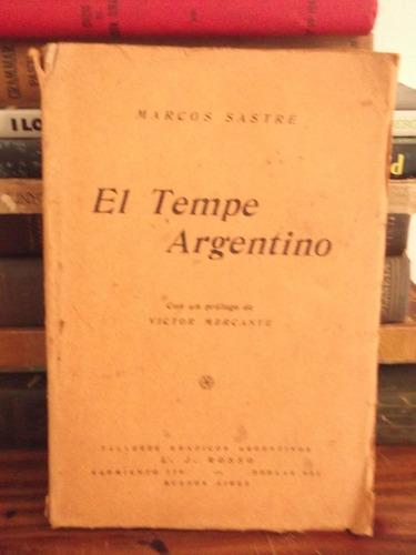 el tempe argentino -  marcos sastre