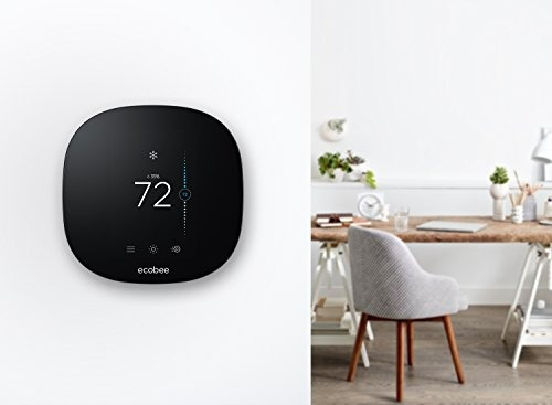 el termostato inteligente ecobee3 lite, funciona con alexa,
