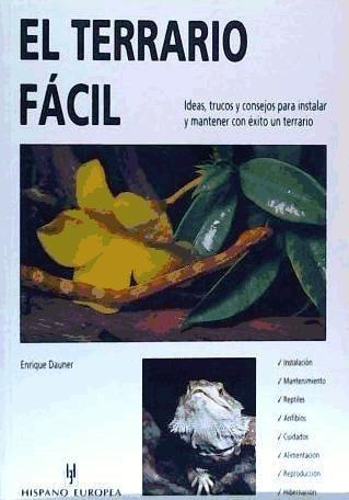 el terrario fácil(libro reptiles)