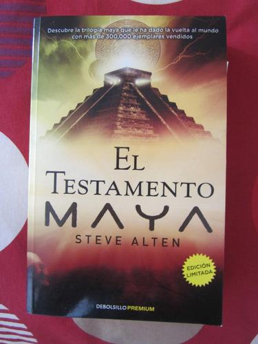 el testamento maya - steven alten