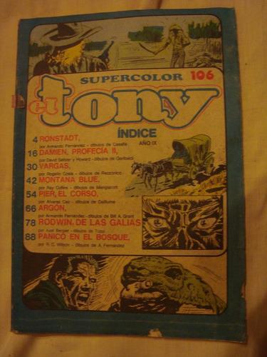 el tony supercolor 106 sin tapa